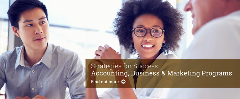 Strategies for Success-Study Accounting,Business and Marketing.