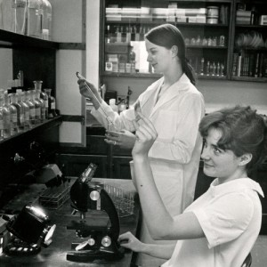 MCC Students in Lab, undated