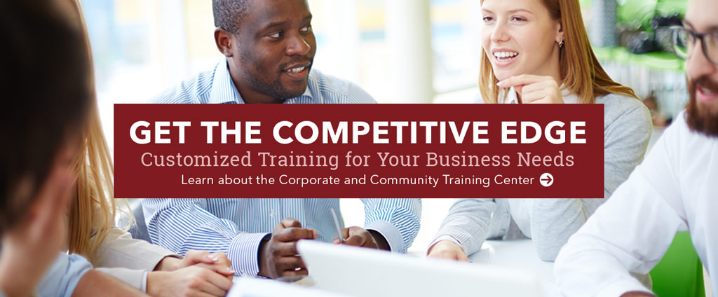 Get the competitive edge through customized business training.