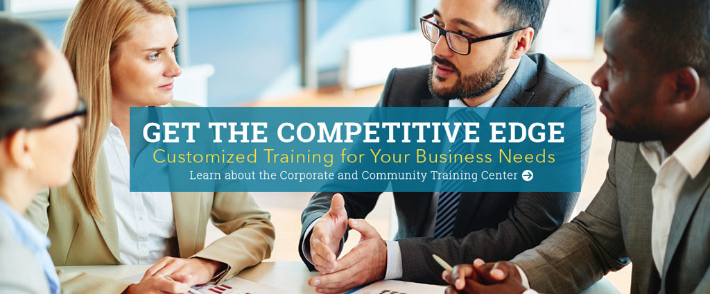 Get the competitive edge with customized training for your business needs.