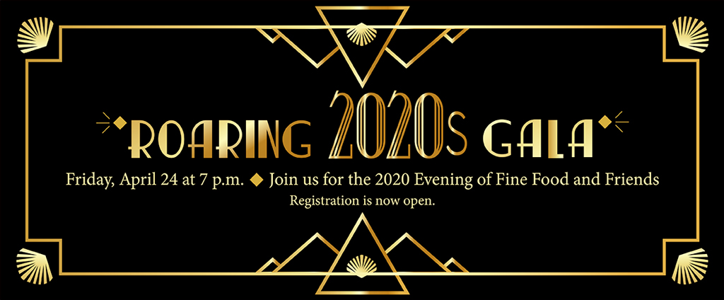Evening of Fine Food and Friends 2020 Registration is now open.