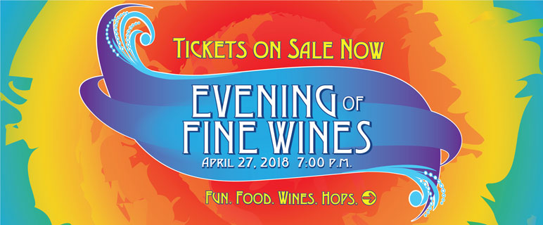 Tickets on sale now for Evening of Fine Wines.
