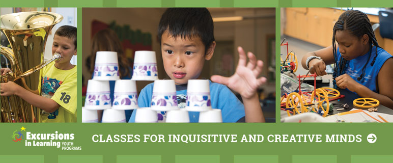 Summer Excursions Classes for Inquisitive and Creative Minds