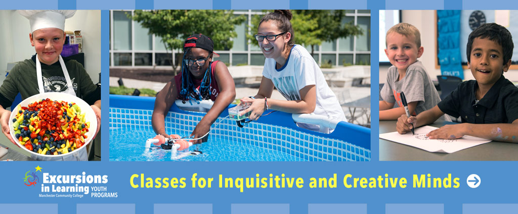 Classes for inquisitive and creative minds.