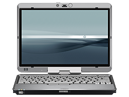 Image of a HP Compaq TC 2710p.