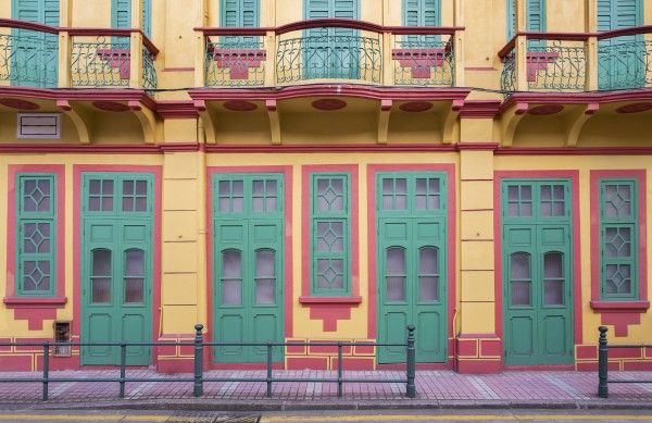 portuguese colonial architecture in Macau, China