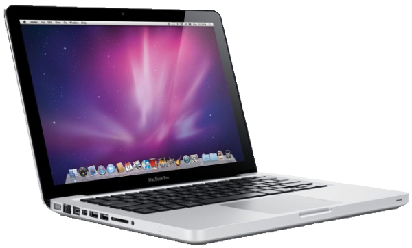 Image of a Mac Book Pro.