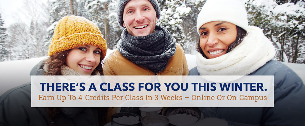 There's a class for you this winter.