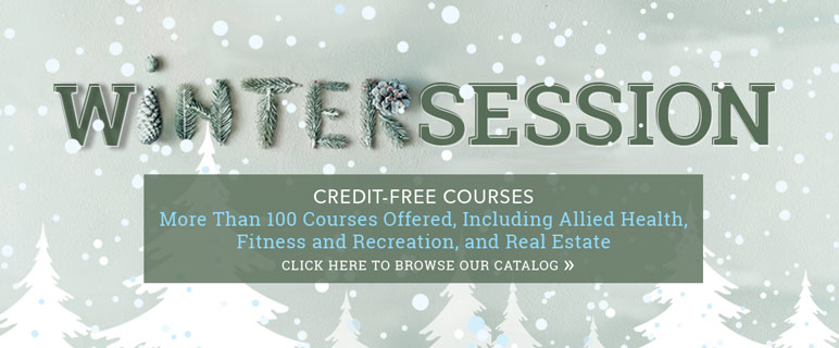 Credit-Free Courses for Winter