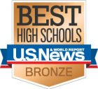 Best High Schools bronze badge