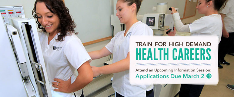 Train for a high demand health career.