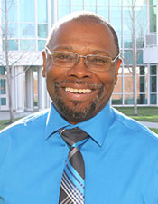 Headshot of Peter Harris, Interim Dean of Student Affairs and Enrollment Services