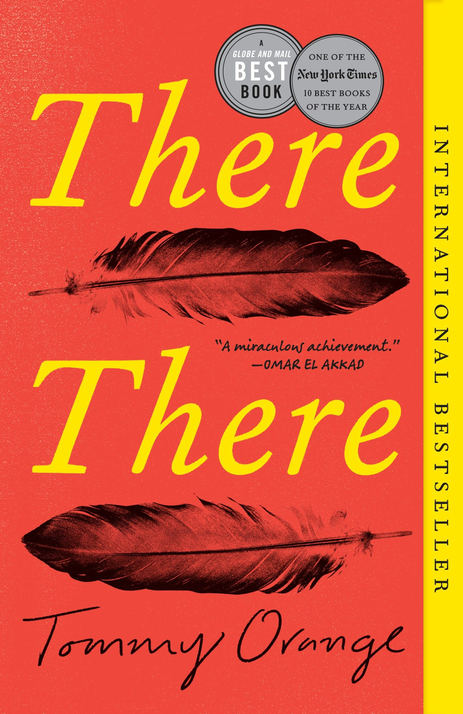 Book cover of There there by Tommy Orange